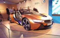 Новая модель автомобиля BMW 2016 года