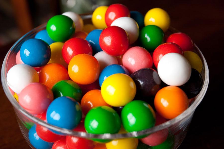 жевательной резинки, жувальної гумки, chewing gum