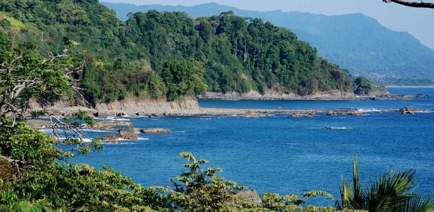 самолет, літак, shores of Costa Rica, біля берегів Коста-Ріки