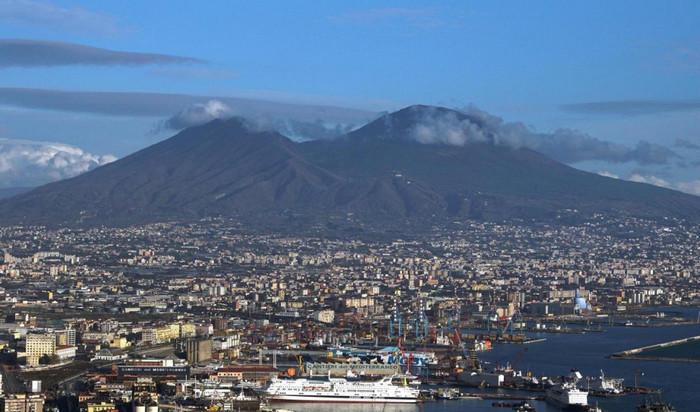вулкан, volcano, Неаполя