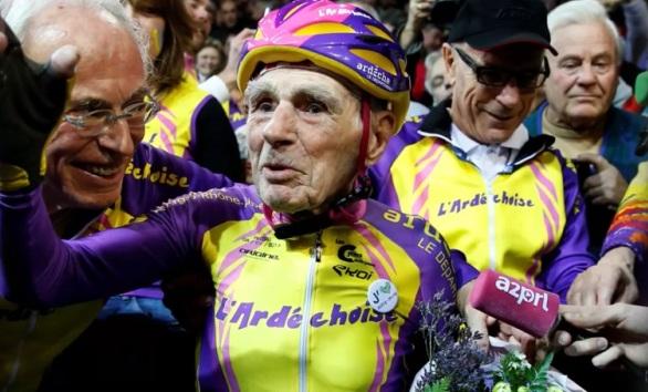 Французский велосипедист, French cyclist, Французький велосипедист