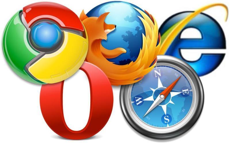 Интернет-браузеры, Internet browsers, Інтернет-браузери