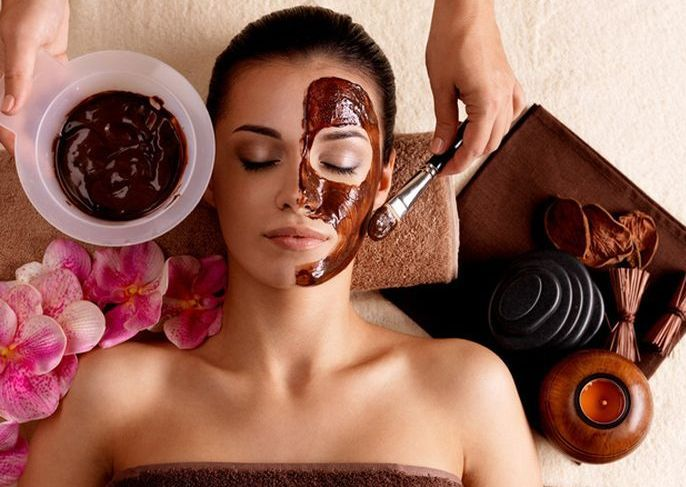 Шоколадная маска, Chocolate face mask, Шоколадна маска