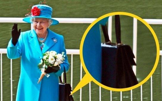 Сумочка королевы Елизаветы, Queen Elizabeth's handbag, Сумочка королеви Єлизавети