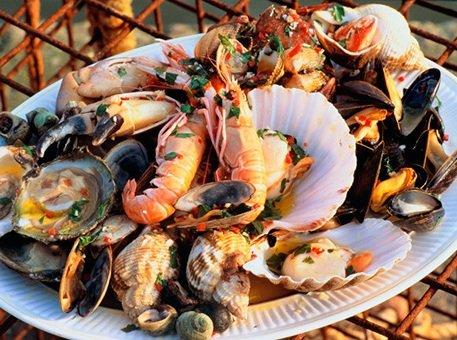 Польза морепродуктов, Benefit of seafood, Користь морепродуктів