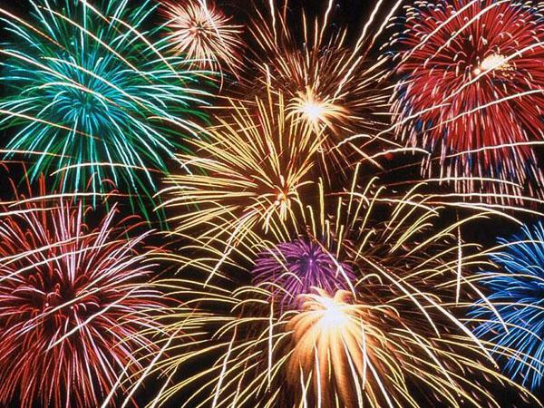 umweltfreundliche Feuerwerk