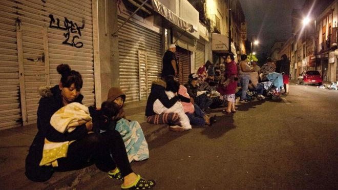 Землетрус в Мексиці