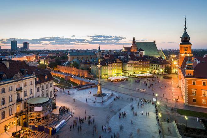 Топ місця подивитись в Варшаві.