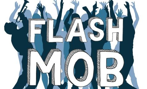 флешмоб, flashmob, пісенний флешмоб