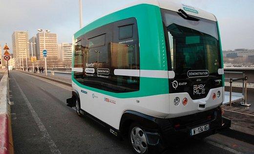 Беспилотные автобусы, Unmanned buses, Безпілотні автобуси