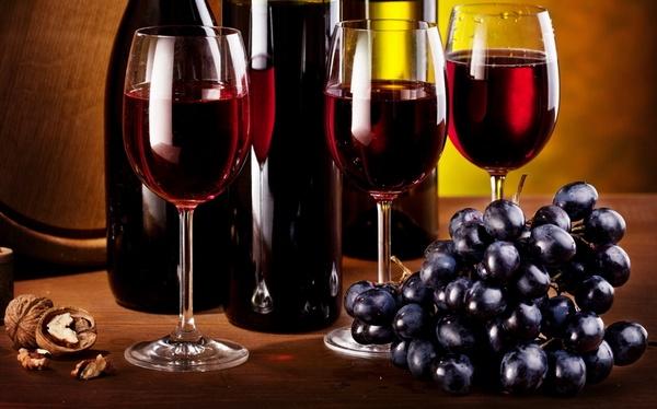 Красное вино, Red wine, Червоне вино