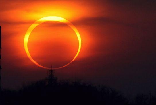 солнечное затмение, solar eclipse, сонячне затемнення