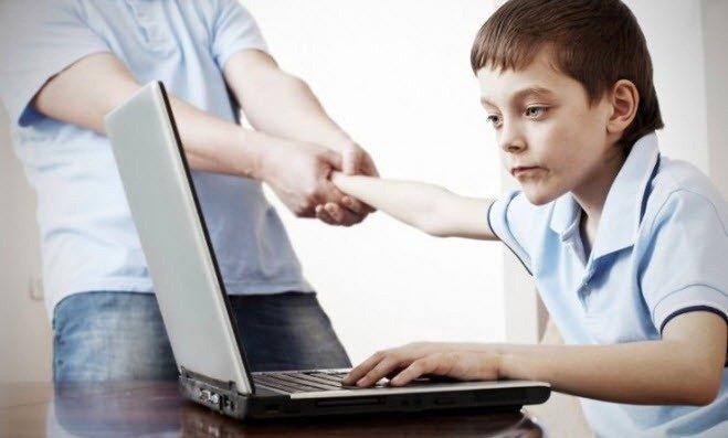 Как отучить ребенка от компьютера, How to wean the child from a computer, Як відучити дитину від комп'ютера