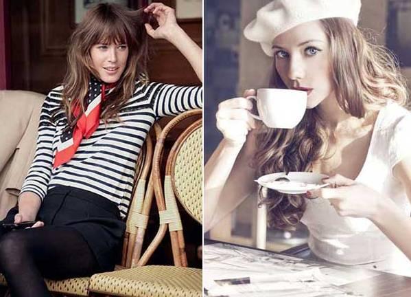 Французский стиль в одежде, French style of clothes, Французький стиль в одязі