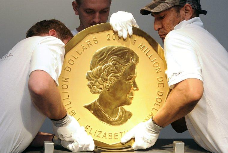 Золотая монета. Gold coin, Золота монета