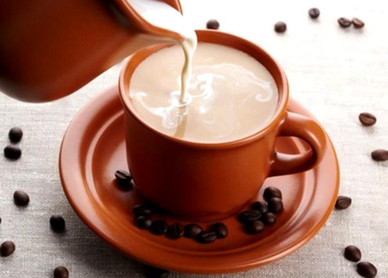 Кофе с молоком, Coffee with milk, Кава з молоком