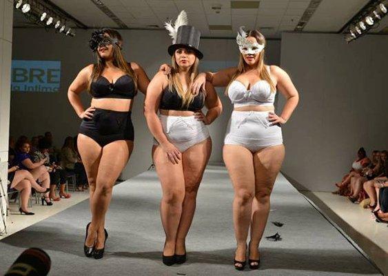 Неделя моды, Plus size, Тиждень моди