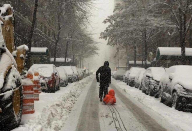 Снежный шторм, Snow storm, Сніговий шторм