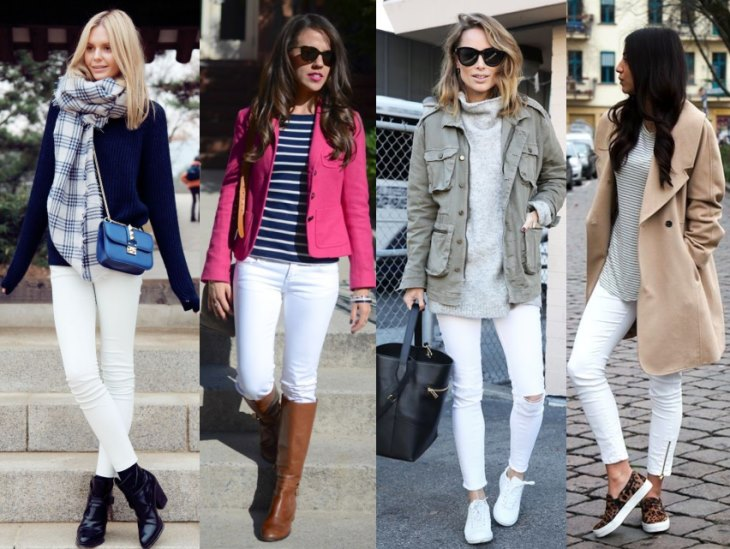 Белые джинсы, White jeans, Білі джинси