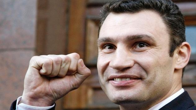 Klitschko gefangen werden