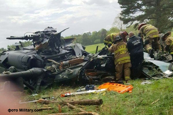 crash of a police helicopter
