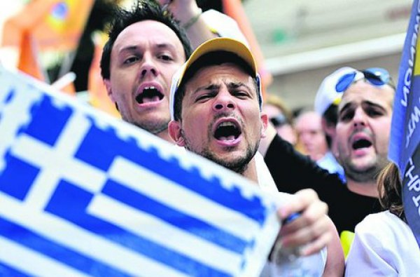 the crisis in Greece