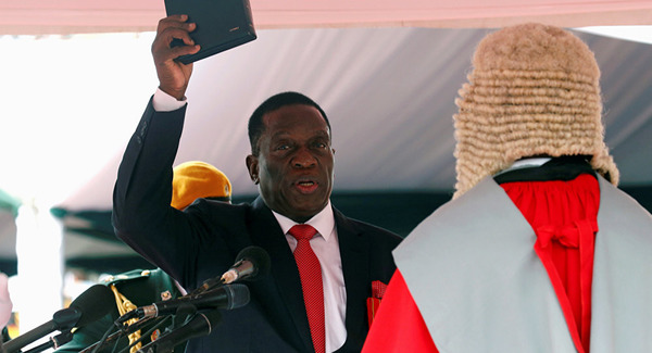 Neuer Präsident von Simbabwe