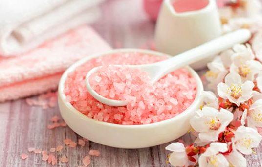 Розовая соль фото