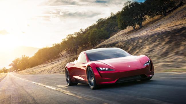 new Tesla Roadster