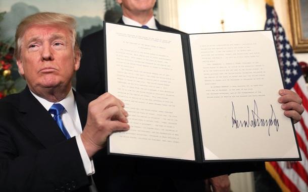 Trump erkannte Jerusalem als die Hauptstadt Israels an