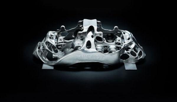 titanium brake caliper